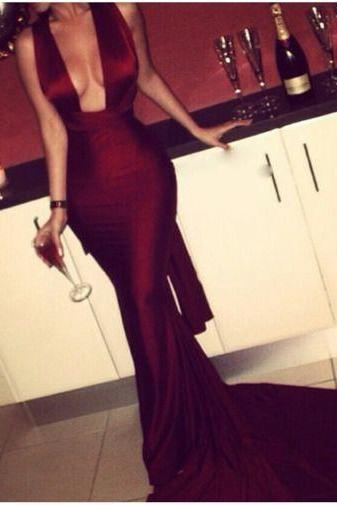 Prom Dress, Mermaid Evening Dresses, Burgundy Prom Dress, Sexy Party Dress, Long Formal Dresses, Long Formal Dress,Graduation Dresses,Wedding Guest Prom Gowns, Formal Occasion Dresses,Formal Dress