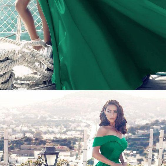 prom dress,off the shoulder prom dress,sexy prom dress,satin evening gowns,long formal dress,long evening gowns